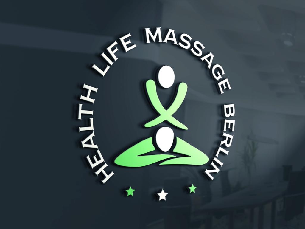 Firmen Logo Außenwand